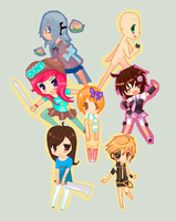 Pixel Collab by HeatherWhat