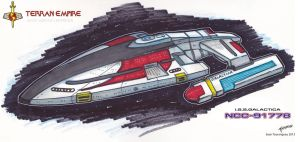 I.S.S.Galactica Marker Concept by stourangeau