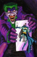 Batman The Joker's 5 Way Revenge 2013 by myconius