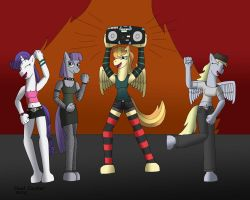 Sunny Smile's Rockin Rave Party by BaroqueWolfe