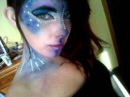 Mermaid make up by Arisusandasu