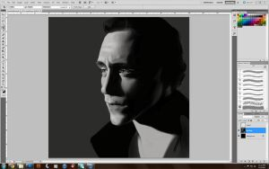 Tom Hiddles WIP by Quackamos