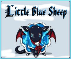 Little Blue Sheep by Anadalya
