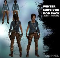 TOMB RAIDER: Lara Winter Mod Pack by doppelstuff