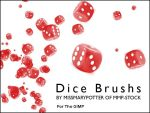 Dice Brushes by getfirefox