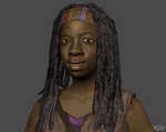 TWD Michone - Facerig by Marcelievsky