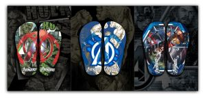 Avenger 2012 Flip Flop for Young Men by sunny84india