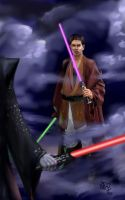 jedi vs sith by angryangler