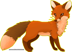 Random MS Paint+Mouse Fox by Pharaonenfuchs