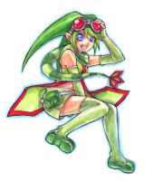 gijinka flygon by chicharon