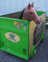Horse in Toy box by specialoftheweek