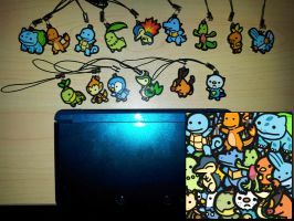 1-inch Charm Set - Pokemon Master Collection by DivineJayce