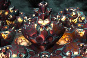 Guardian of the Mandelbulb Country by littleriverqueen