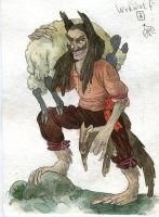 werewolf by Bard-the-zombie