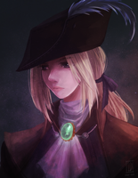 Bloodborne: Lady Maria by Izzu-shi