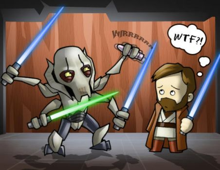 A Greivous Mistake by CGVickers