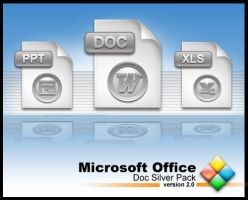 MS Office Doc Silverpack by weboso