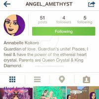 Amethyst's Instagram Page by AngelAmethyst