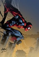 Spiderman Color by Przemo85