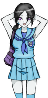 Wii University Student : Wii fit Trainer Colored by TempusSubsisto