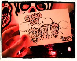 What Could Green Day Be Saying!! You Tell Me!!! by XBlackFerretX