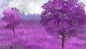 Purple Forest by 1Darkfalcon