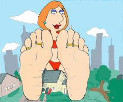 Lois Grows Into a Giantess by birdmangts