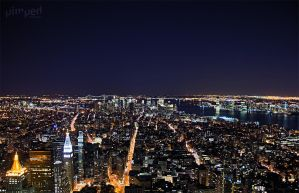 NYC by night by StevenLdk
