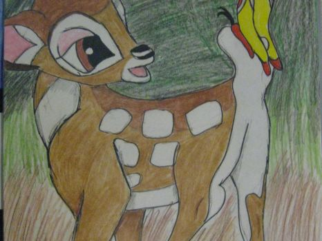Bambi Colored by AndyTheCactus