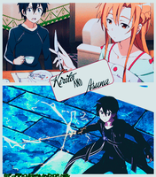 Kirito and Asuna Gif by PipeQuintero