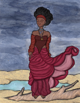Queen of Sand by Slave2Karma