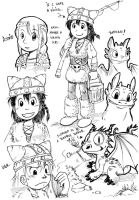 HTTYD: random doodles by rinacat