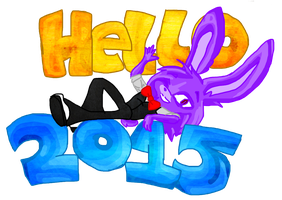Hello to 2015 by sheezy93