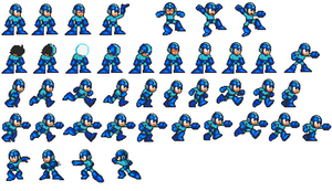 Megaman Custom sprites .:Updated:. by LucarioShirona
