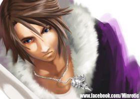 Squall - WIP by Min-rotic