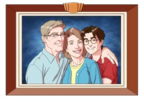 USM: PARKER FAMILY PORTRAIT by Jerome-K-Moore