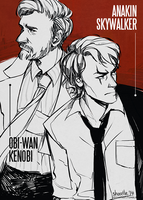 star wars detective AU by shorelle