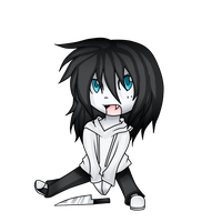 chibi Jeff by Creepyxkiller