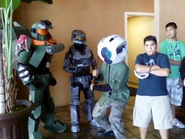 Halo and Nephew -AV2010- by EmberYami