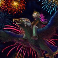Happy 4th July Alfred by Pink-Shimmer