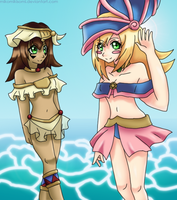 Contest- Beach DMG and Mana by MikomiKisomi