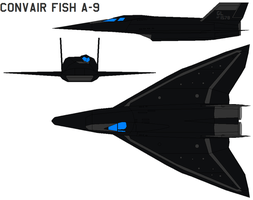 Convair Fish a-9 by bagera3005