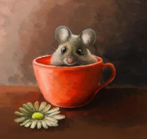 Mouse in the cup by IronMouse86