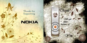 Nokia L'Amour Greeting Card by StupidKhor