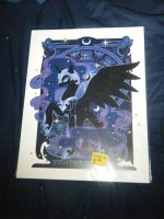 Chicago ComicCon Loot - Nightmare Moon Print by InsaneSpyro