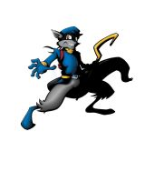 Sly Cooper (Work in Progress) by Toosh512