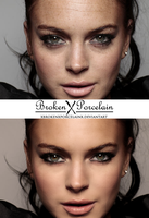 Skin Retouch by XBrokenXPorcelainX