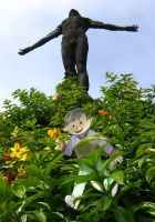 Flat Stanley and Oble by xuigen