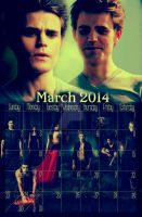 TVD March - 2014 by angiezinha
