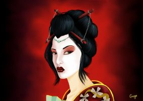 Geisha by inagugo